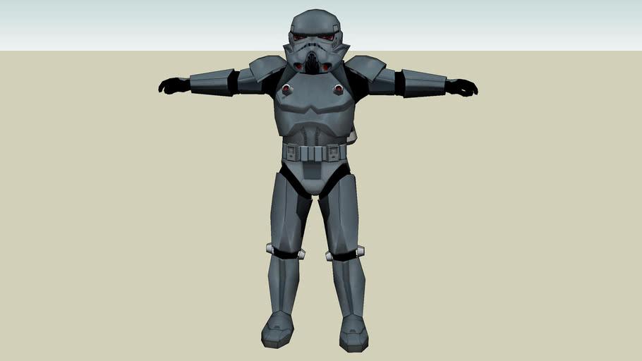 Imperial Dark trooper Phase Zero