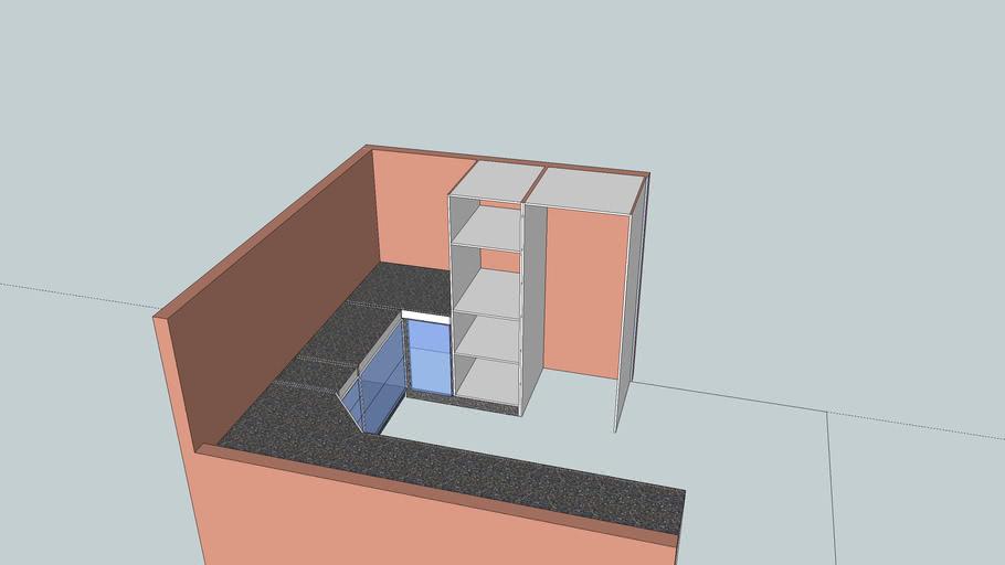 Cozinha quadrada