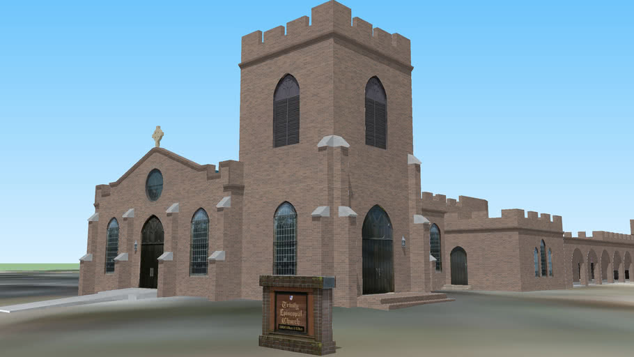 Trinity Episcopal Church - Hattiesburg, Mississippi