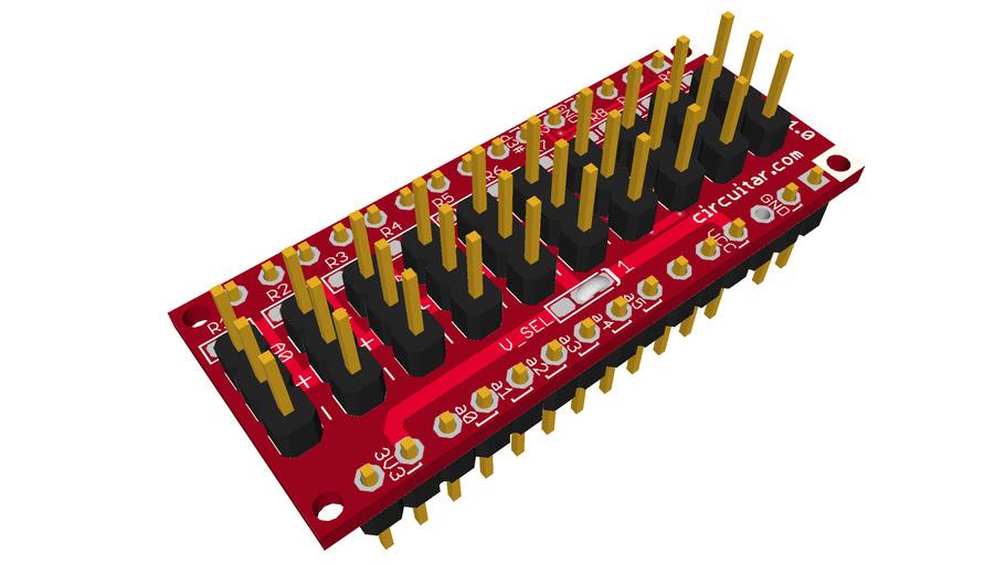 Nanoshield Wire A v1.0
