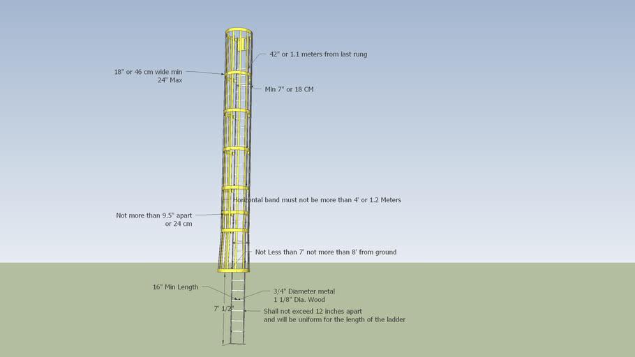 Industrial Ladder OSHA