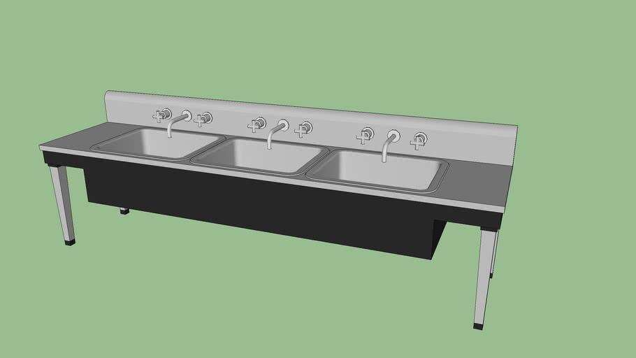 Commerical Sink 3 basin (210 kb)