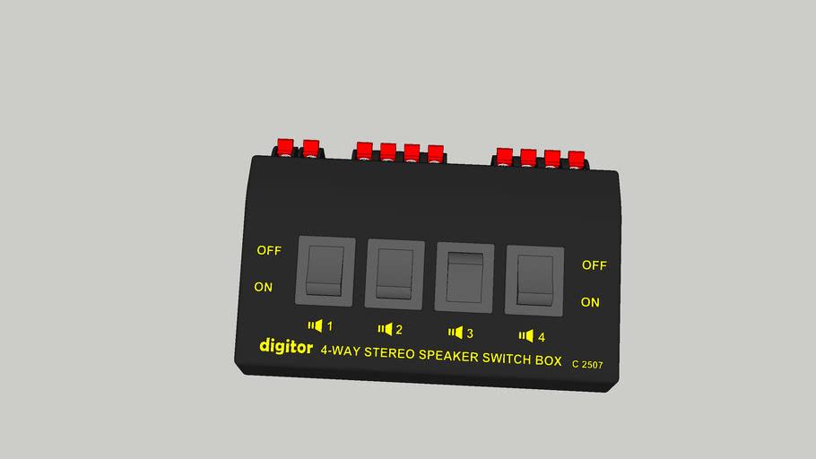 Speaker Switch Box