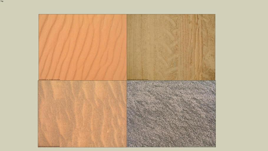 Sand Texture 4 Pack 3d Warehouse