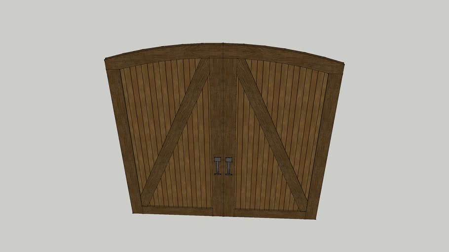 ARCHED GARAGE DOOR