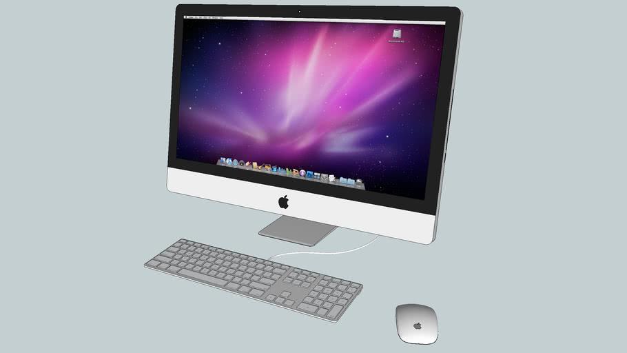 Apple iMac 27 in + keyboard + mouse