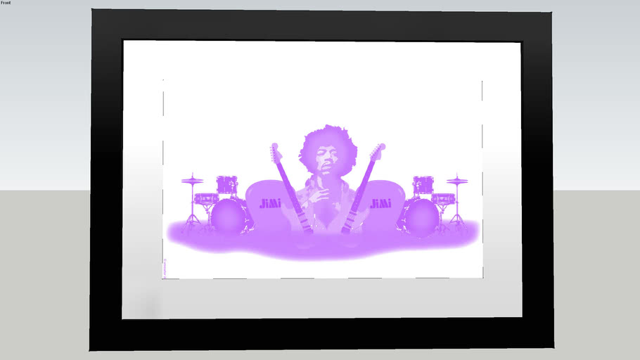 Jimi Hendrix , Framed, Photo, Picture