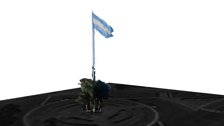 Mastil Bandera Argentina