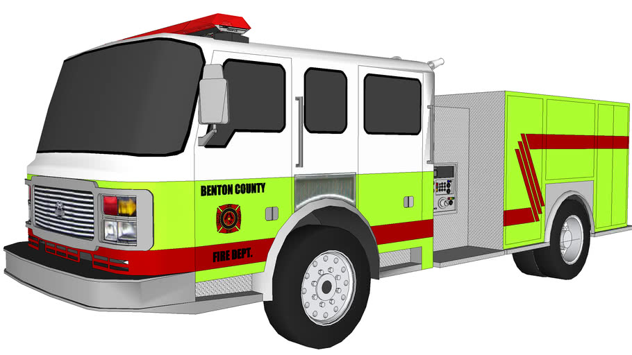 BENTON COUNTY FIRE ENGINE