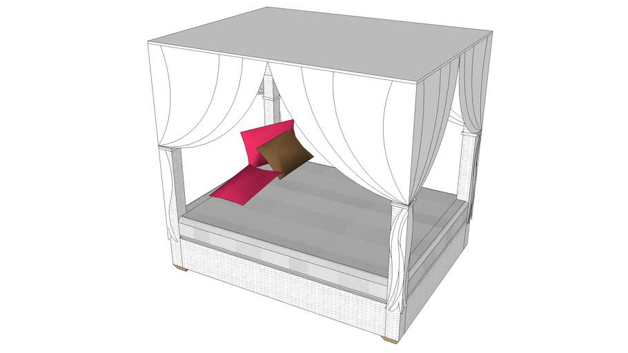 krevet  za vrt