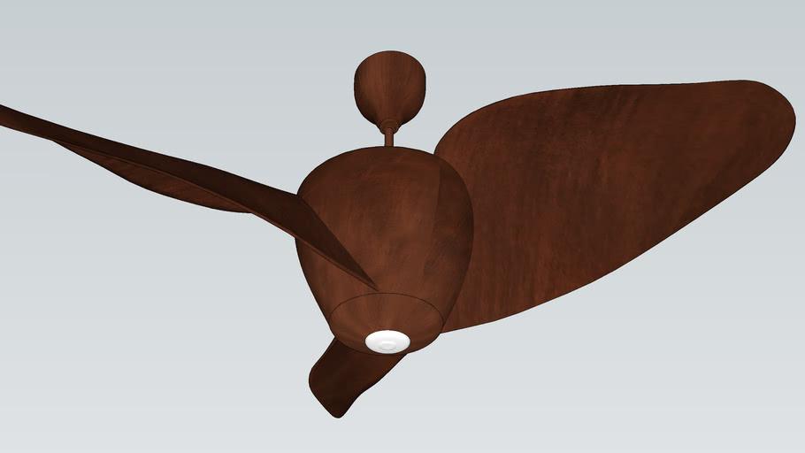 FIREFLY WALNUT - Designer Fan by Fanzart VRAY Ready Fan