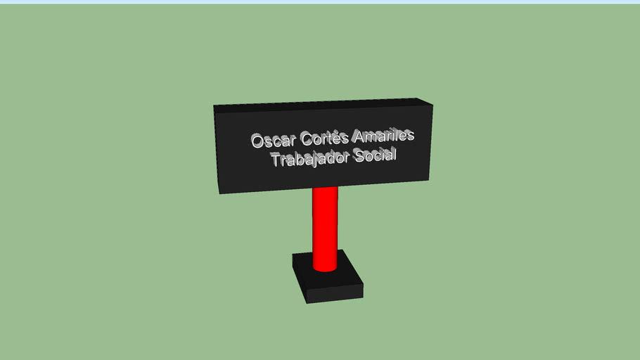 Tarjeta Oscar