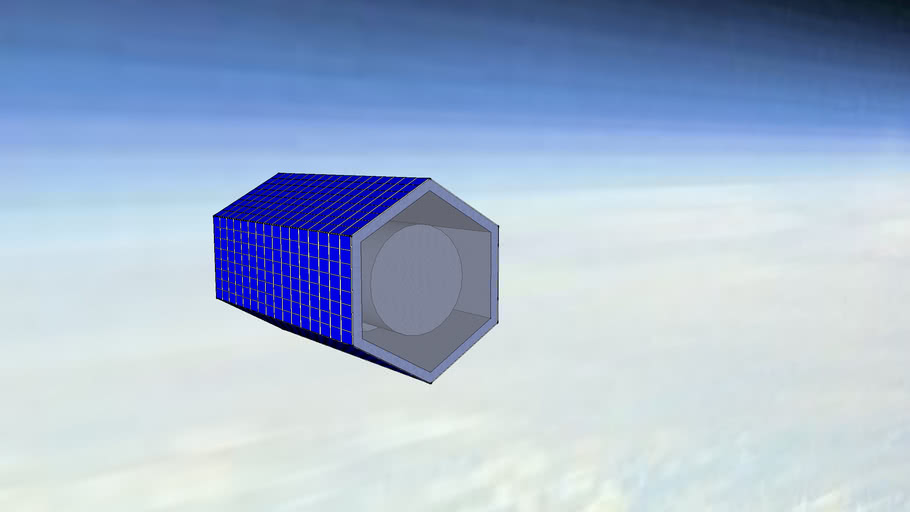 CO2 Filter Spacecraft