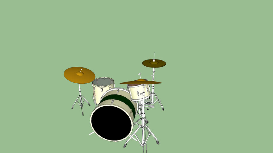 Rock Drum Set