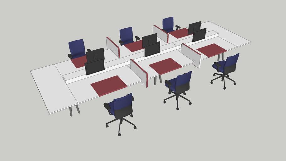 Desk System - Vitra Joyn