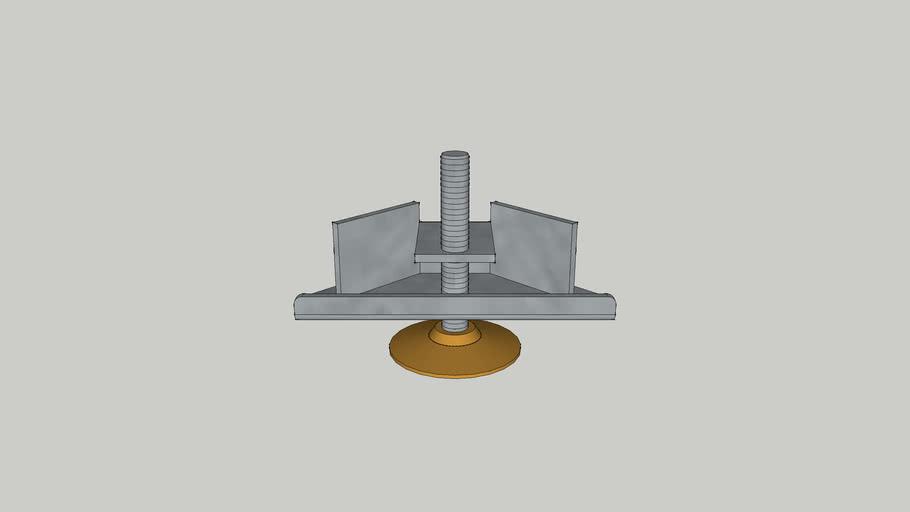 Hafele cabinet foot - Base leveler
