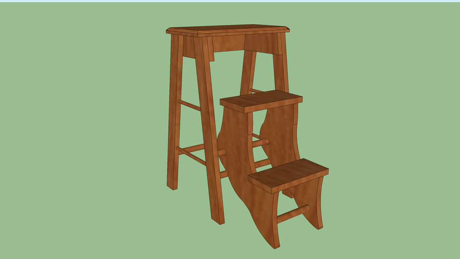 Step Stool by Gramps