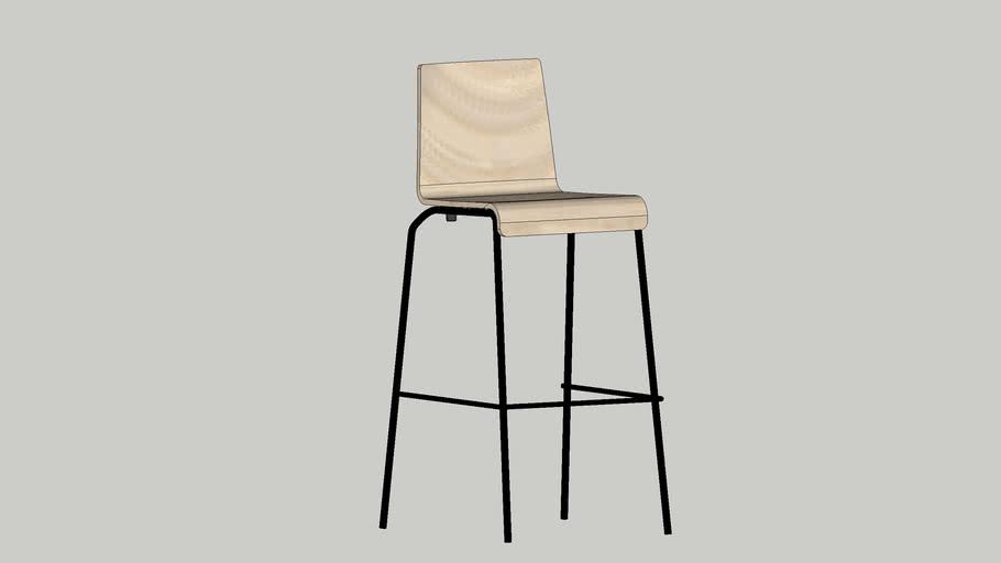 chaise à poignée