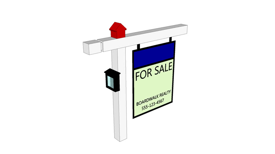 Real-Estate Sign