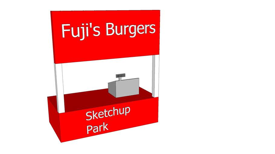 Sketchup park Burger Bar