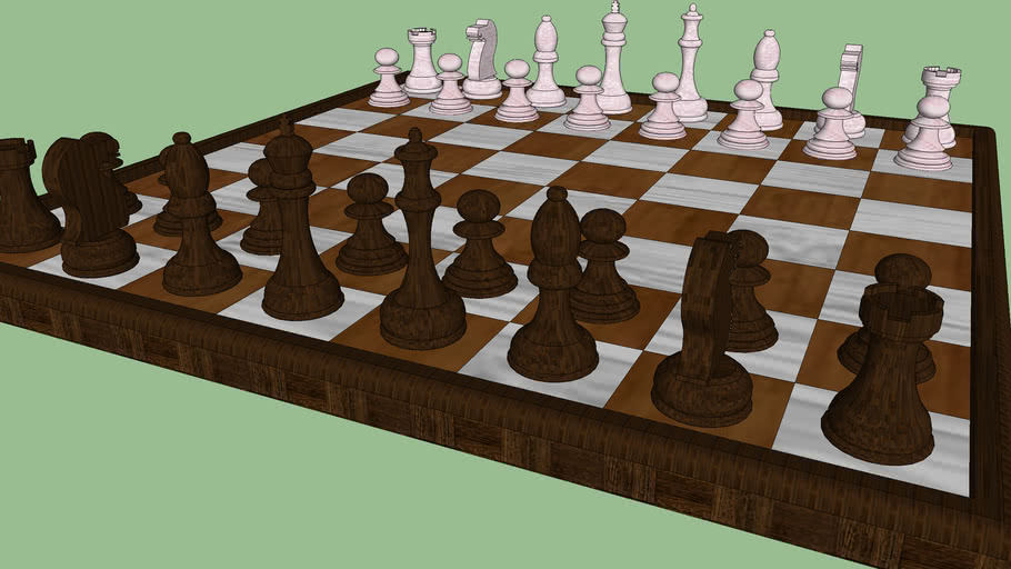 Board Chess / Tabuleiro de Xadrez
