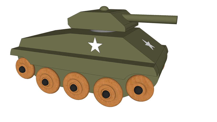 Toy WWII Tank