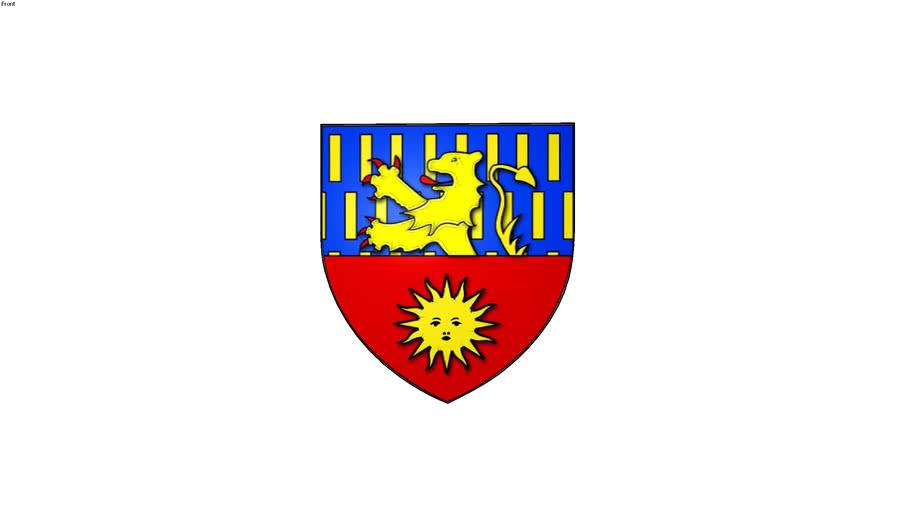 blason de la ville de Luxeuil-les-Bains