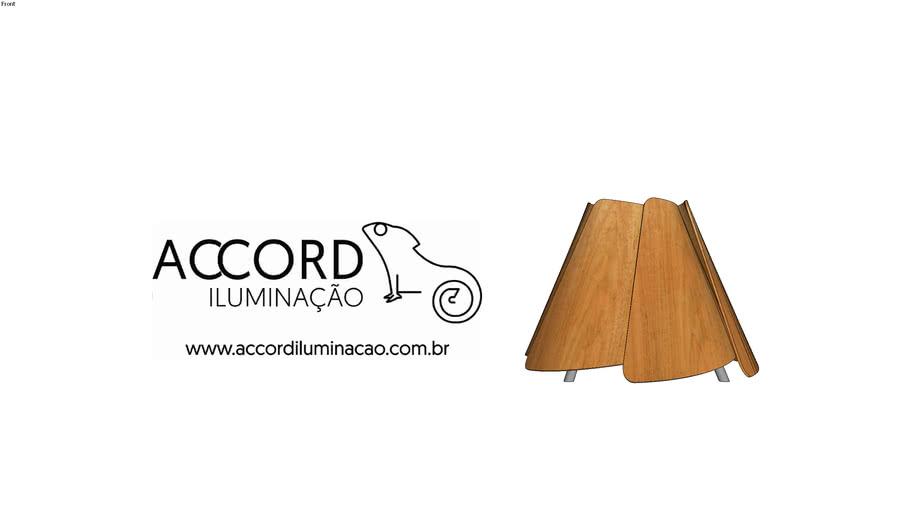Abajur Accord Fuchsia 7049