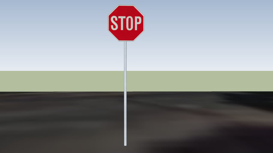stop sign at Hartley Pl and Firestone Rd