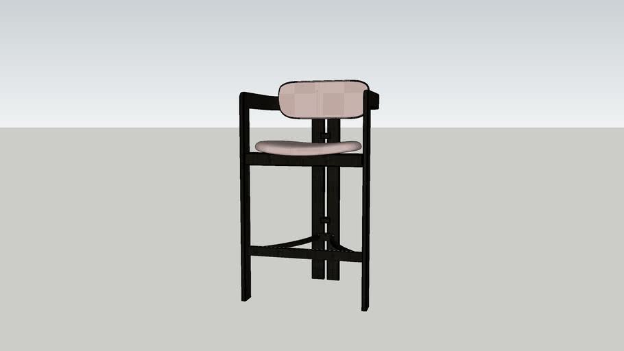 bar stool Gallotti & Radice 0419