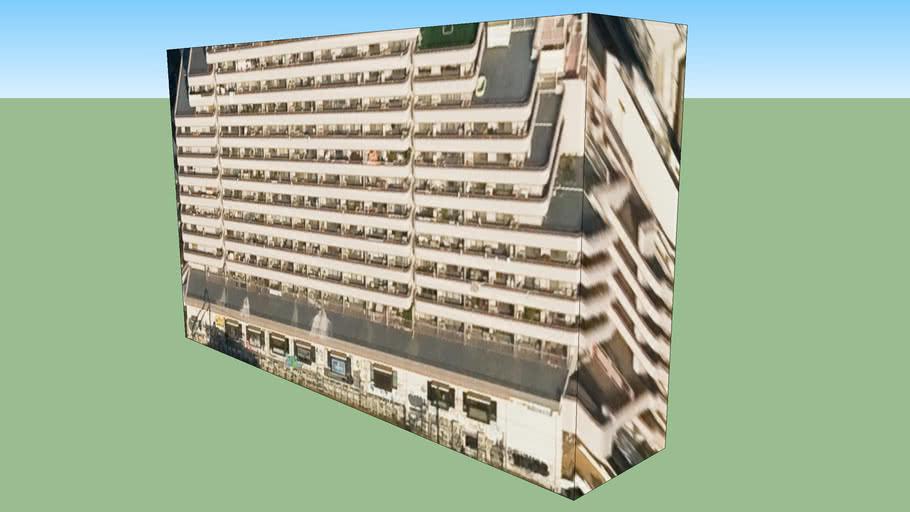 Building in Setagaya Ward, Tōkyō Metropolis, Japan