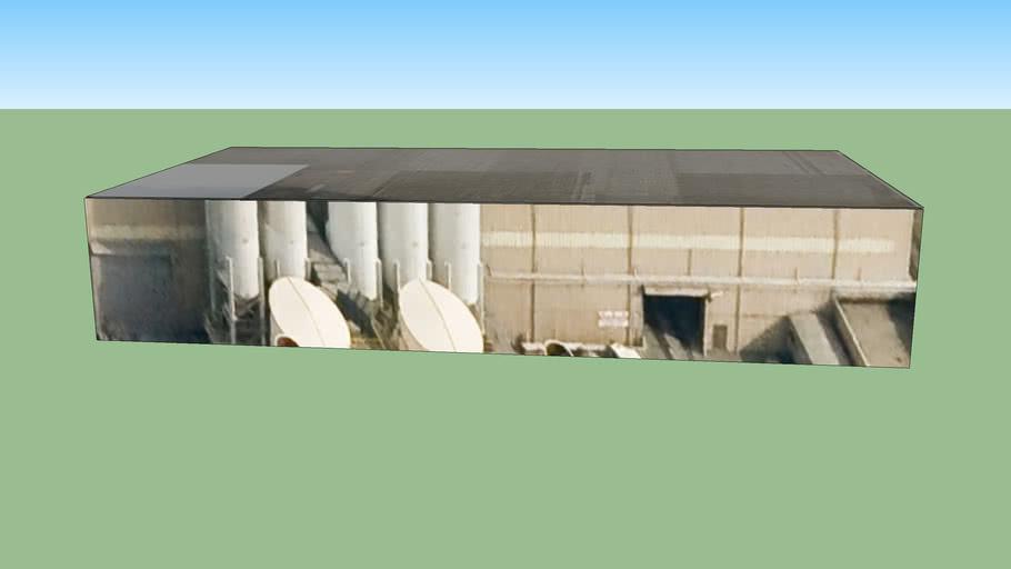 Bâtiment situé Détroit, Michigan, États-Unis