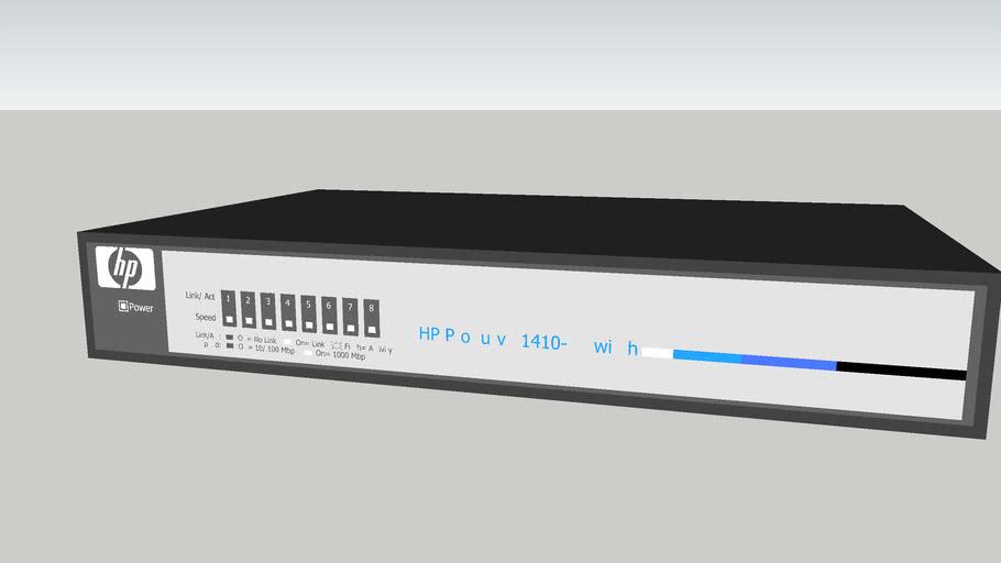 HP ProCurve 1410-8 Ethernet Switch