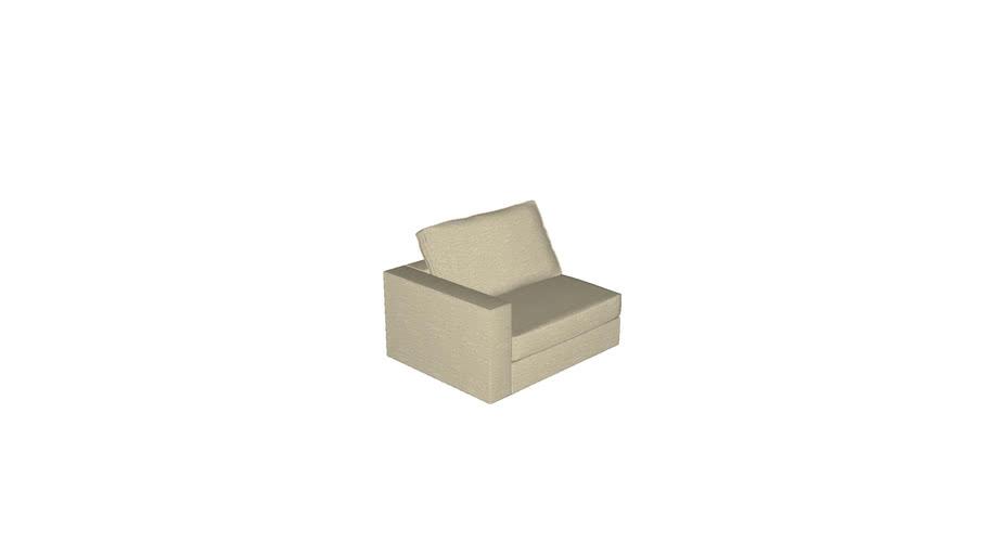 Florense Modula - Kit 1,5 Lugar Direito Braço 170mm 1160x595x940