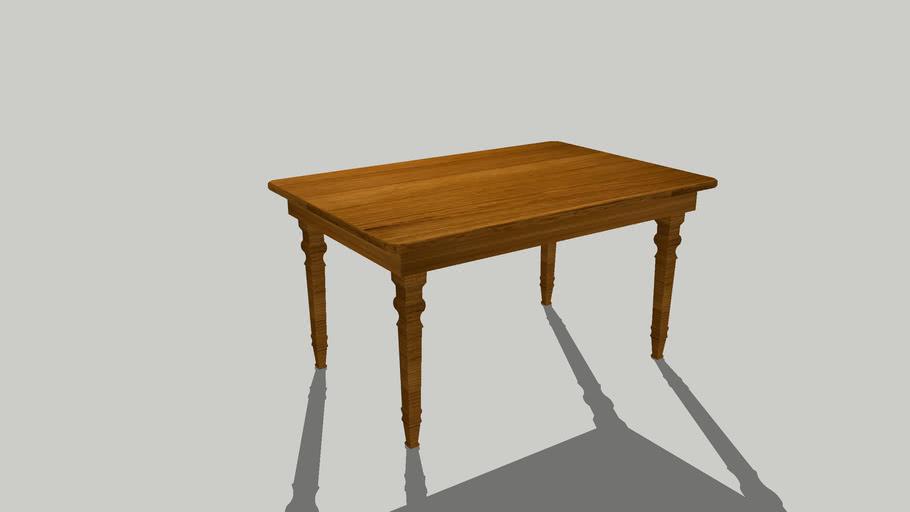 oakwood table