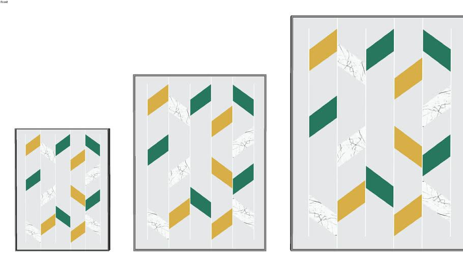 QUADRO URBAN ARTS _ convergir imaturo - verde - UrbanArts