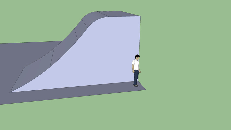 life size scale roll-in