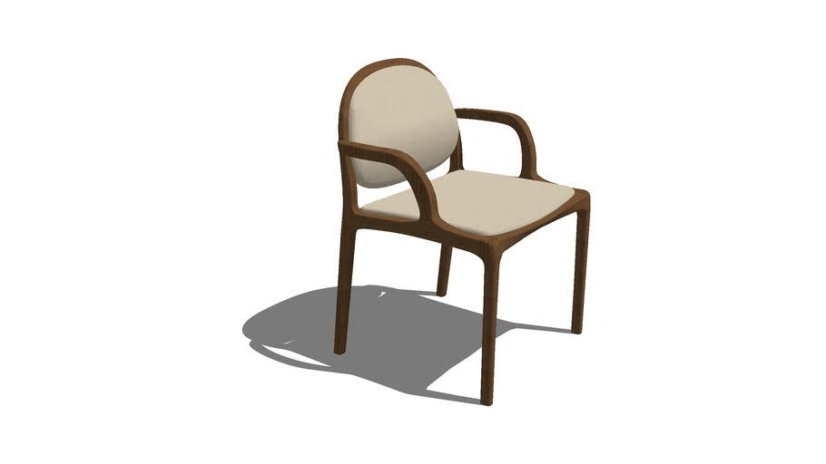 Cadeira Milà com braço - Rejane Carvalho Leite