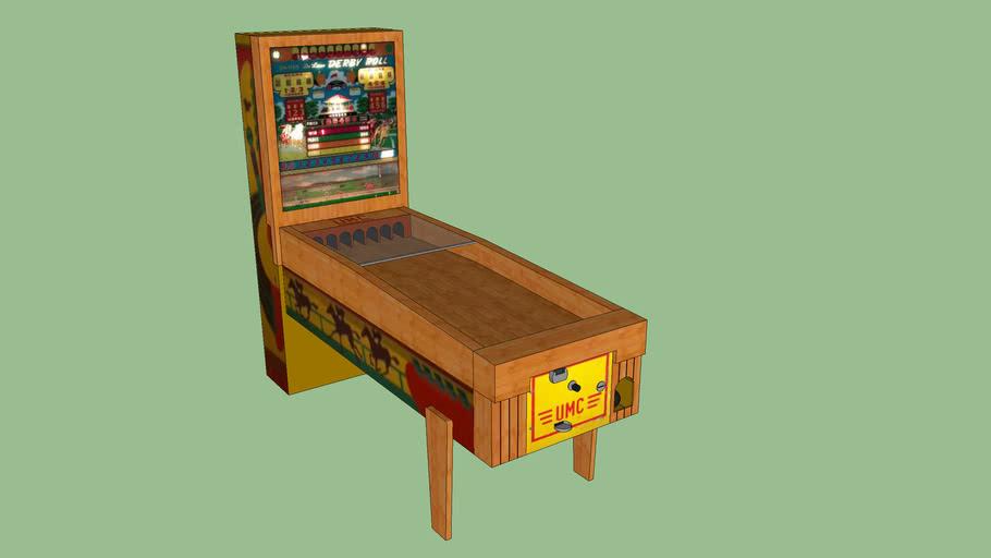 Derby Roll EM Arcade Game