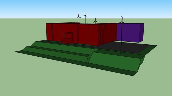 School Wind Turbine Project.