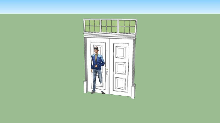 front door, elegant