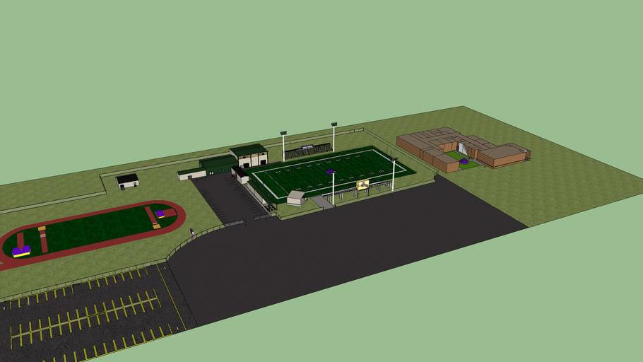 Ashdown high football field