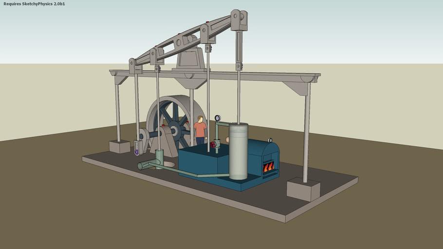 steam engine James Watt