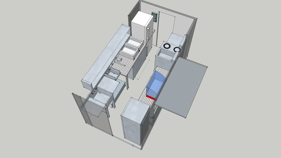 Food Truck Layout 3d Warehouse