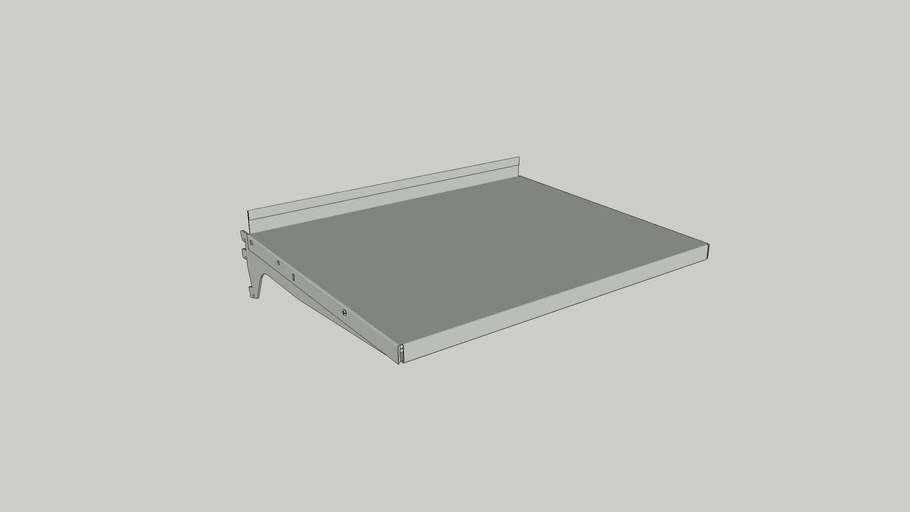 SSG shelf S050 x400 ESD Complete  Item No.200201-52