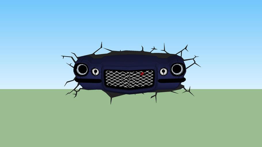 Luminária 3D Carro Clássico