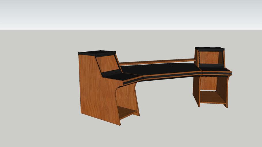 Zaor Aria Studio Workstation - Cherry
