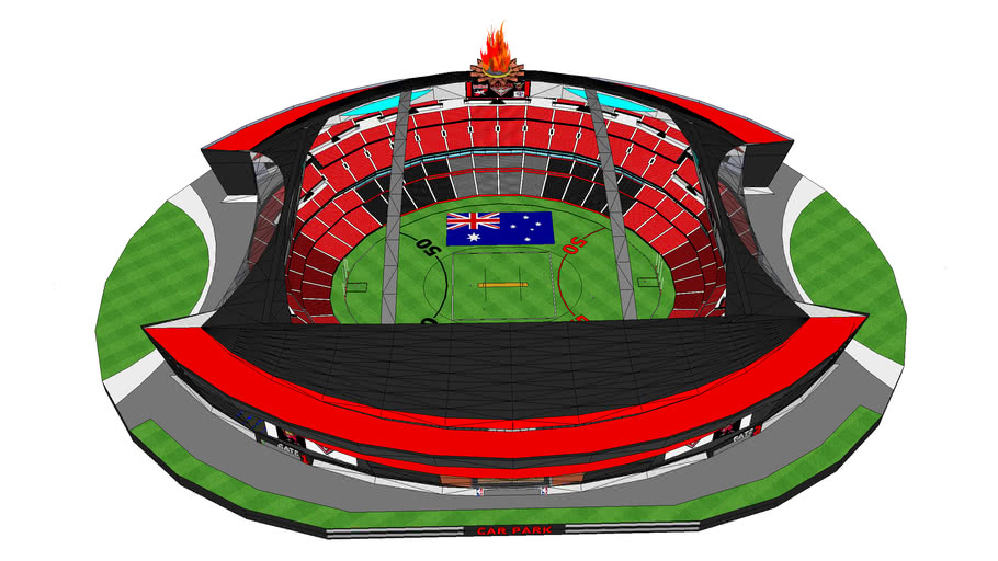 Stadium NEW WINDY HILL KarraDome