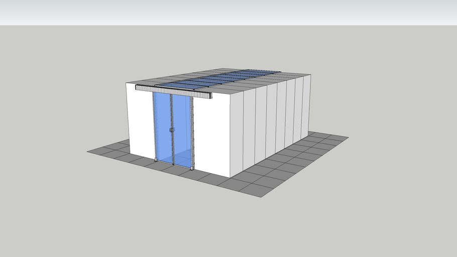 Cabinet Supported Containment - Roof Panels