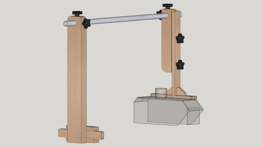 Table Saw Dust Collector Guard